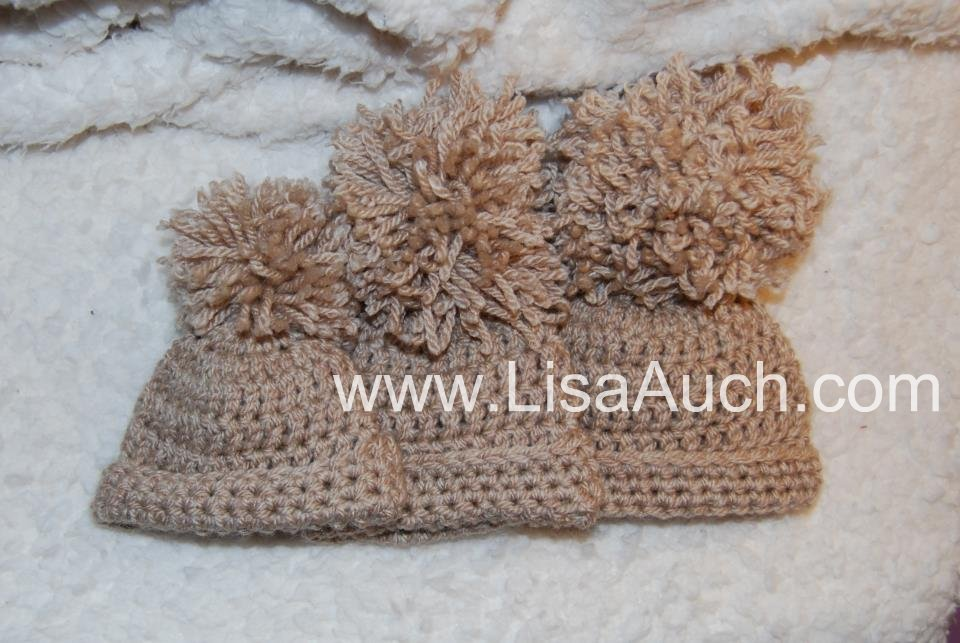 FREE Basic Crochet Baby EASY Hat Pattern in 3 sizes | Free Crochet ...