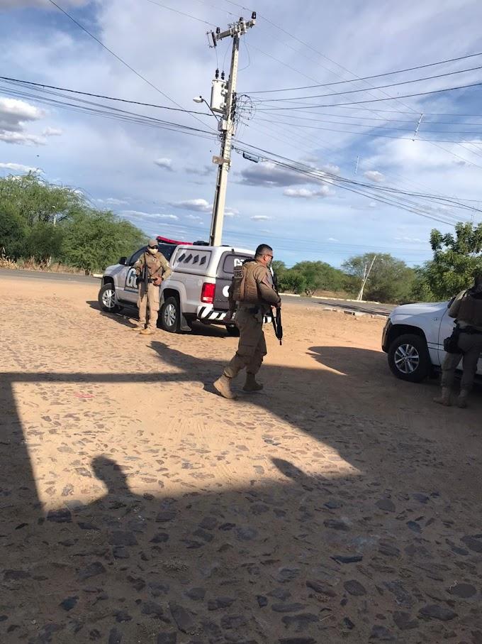 60 PRESOS FORAM TRANSFERIDOS DO CENTRO DE TRIAGEM EM NOVO ORIENTE PARA PENITENCIÁRIA DE SOBRAL
