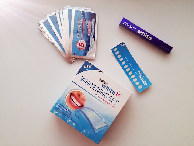 Wybielanie zębów paskami Bright White + Konkurs!!!