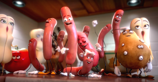 Sausage Party 2016 adult animated movie