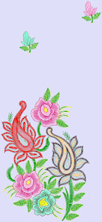a dresses designs for embroidery machine