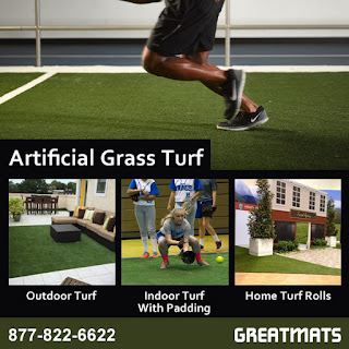 Greatmats artificial grass turf infographic