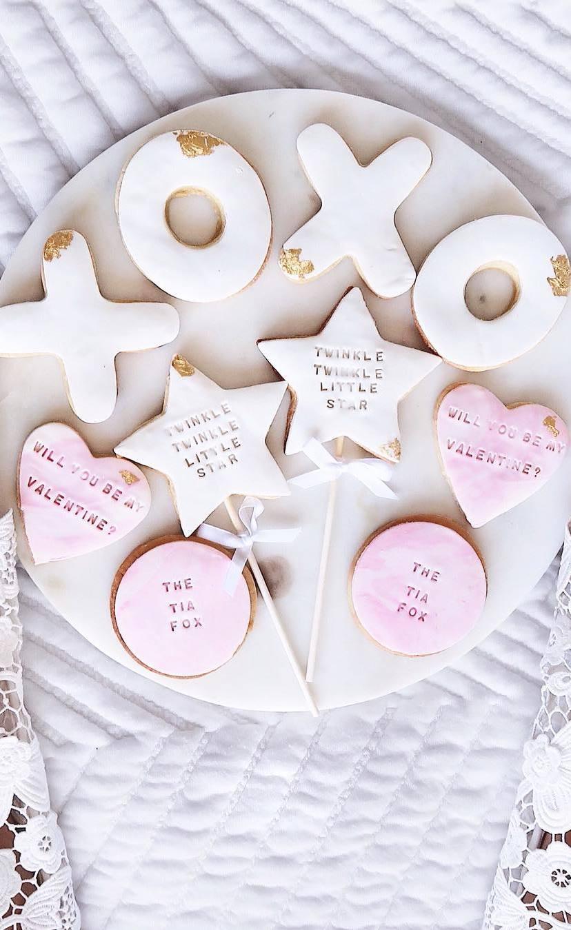 dessert on valentine day