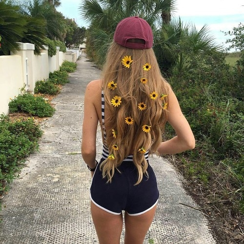 Sunflower hairclip