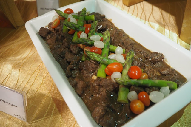 Beef Bourguignon Chinese New Year menu