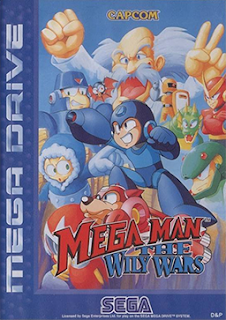 Megaman: The Wily Wars (BR) [ SMD ]