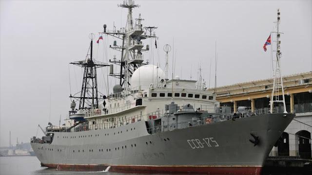 EEUU detecta nave espía rusa a 100 millas de su territorio