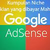 Kumpulan Niche Iklan Yang Dibayar Mahal Oleh Google Adsense