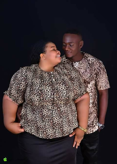 Plus-Size Lady Excited Many With Her Pre-wedding Photos