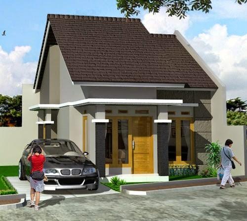 model rumah atap cor 6