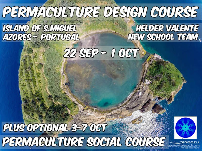 PDC Permaculture Design Course - September - Island of S.Miguel - Azores
