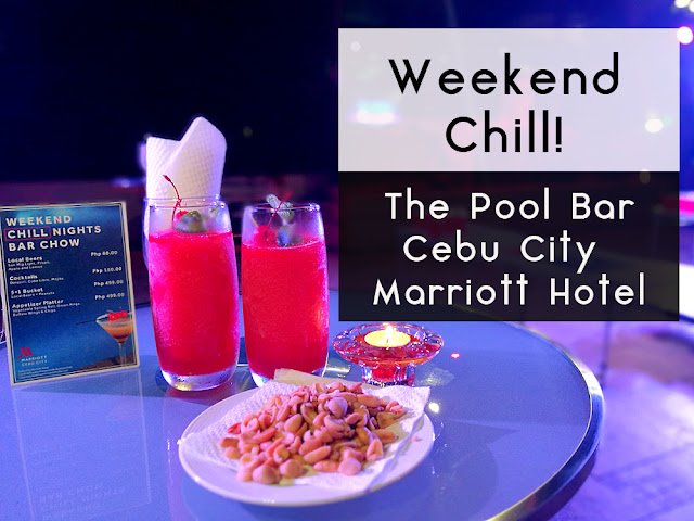 Weekend Chill at the pool bar!