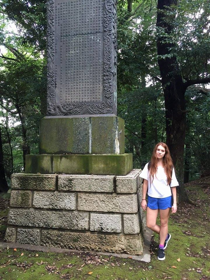 Marisa Thorne in Japan