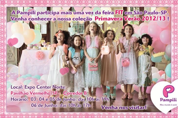 53d223c00 Pampili apresenta coleção Primavera Verão 2012 13 durante a FIT ...