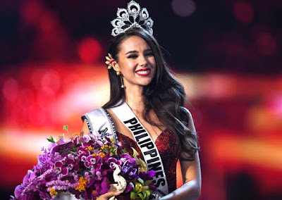 Miss Universe 2018 Winner, Catriona Gray From Philippines Win Miss Universe 2018, Miss Philippines Catriona Gray Win Miss Universe 2018, Pertandingan Ratu Cantik 2018, Miss Universe 2018, Miss World and Miss Universe 2018,