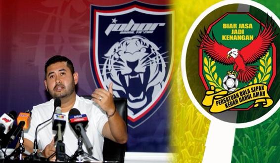 HAMBIK KAU ! Ini Kenyataan Berani Mati TMJ Lepas Johor Kalah Dengan Kedah Kelmarin... TERBAIK TMJ !