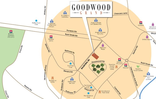 Goodwood Grand ocation Map