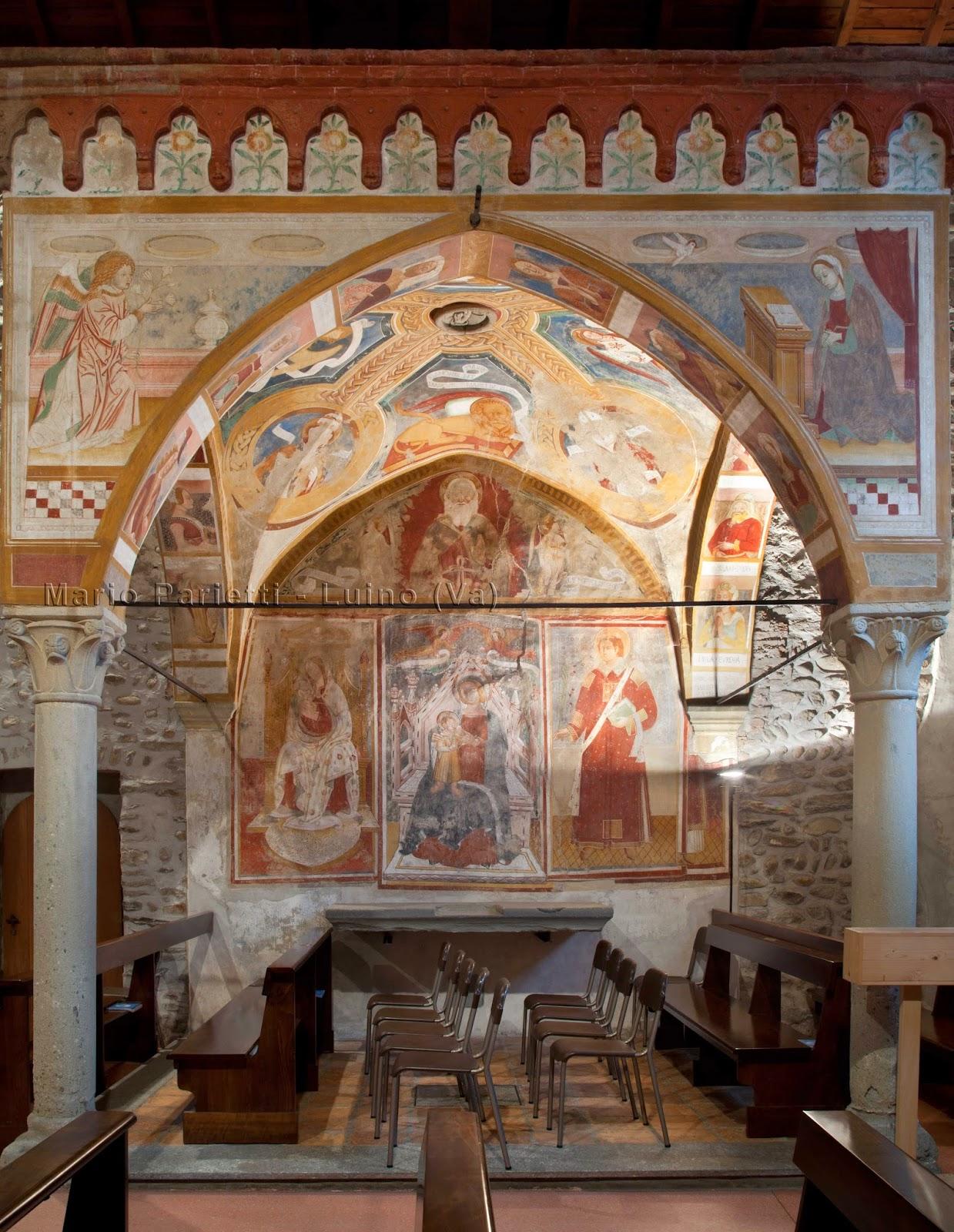 Chiesa Santo Stefano Bizzozero.Lago Maggiore E Dintorni Chiesa Di Santo Stefano A