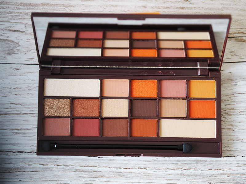 urban decay heat palette dupe i heart makeup revolution eyeshadow beauty review