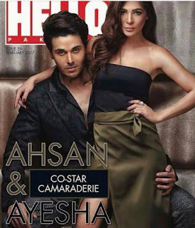 Ayesha Omer and Ahsan khan For Hello Pakistan