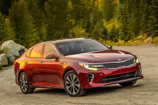 Kia's Optima moves up in class for 2016