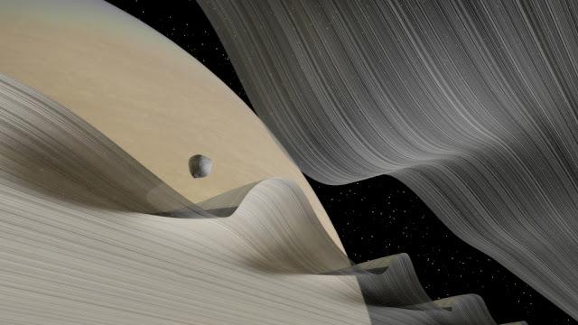 Daphnis na divisão de Keeler - Kevin Gill