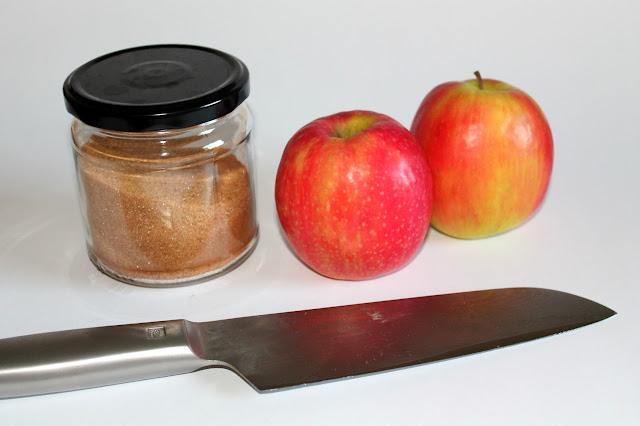 DIY, Basteln: Apfel-Zimt-Chips in Geschenke aus der Küche und Geschenkideen - DIYCarinchen