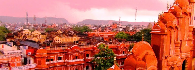 Colorful Cities in Jaipur, India