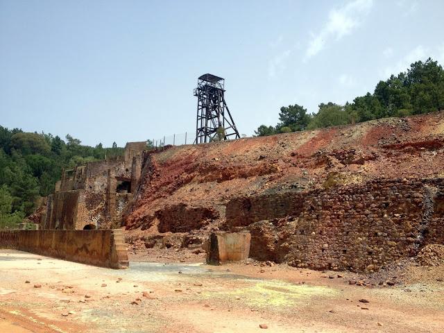 ruta por las minas de Riotinto