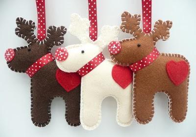 Gratis vilt patronen Kerstmis Atelier de Vier Jaargetijden