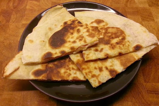 Cheap and easy Quesedillas