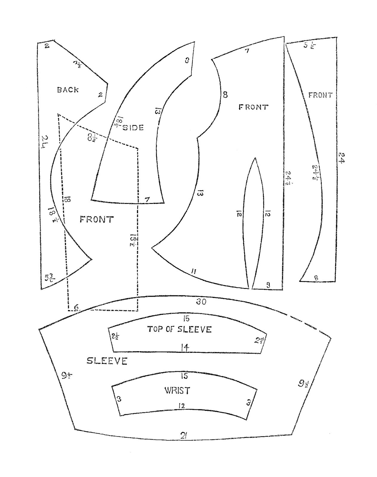 Antique Images: Free Antique Sewing Graphic: Victorian Era