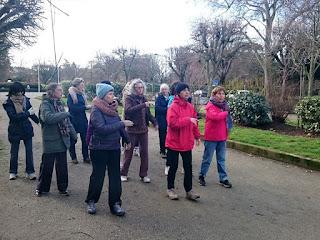 Marche Xi Xi Hu au Jardin des Plantes de Toulouse