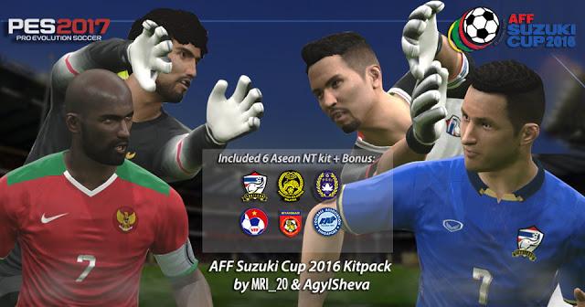 PES 2017 AFF 2016 Teams Kits-Pack. List   INDONESIA Home Away Home Alt Away  Alt GK AFF 2010 Home Kit MALAYSIA b4175d1a1