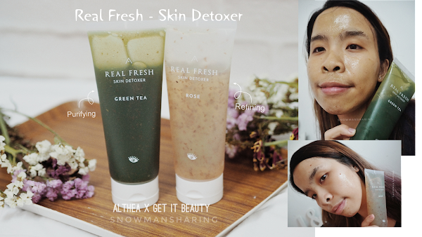 The 10 SECONDS MASK You've needed - Real Fresh Skin Detoxer from ALTHEA x Get It Beauty
