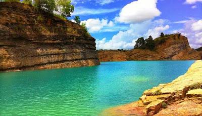 Danau Biru Banjarmasin