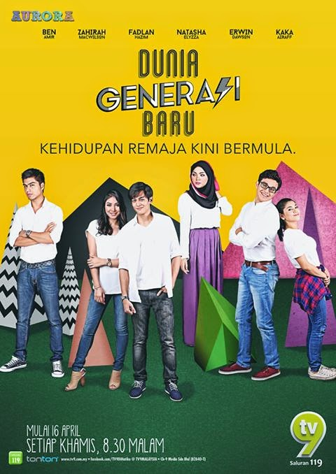 Original Sound Track OST Dunia Generasi Baru TV9, lagu tema drama Dunia Generasi Baru TV9, video muzik Dunia Generasi Baru TV9, download OST Dunia Generasi Baru, tonton video klip lagu Bukan Hal Aku - Kaka Azraff, lagu Bawaku Pergi - Kaka Azraff feat Zizan Razak