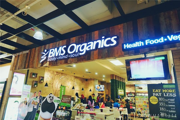 BMS Organics & Chef Wan - Healthy Eating Bloggers' Conference