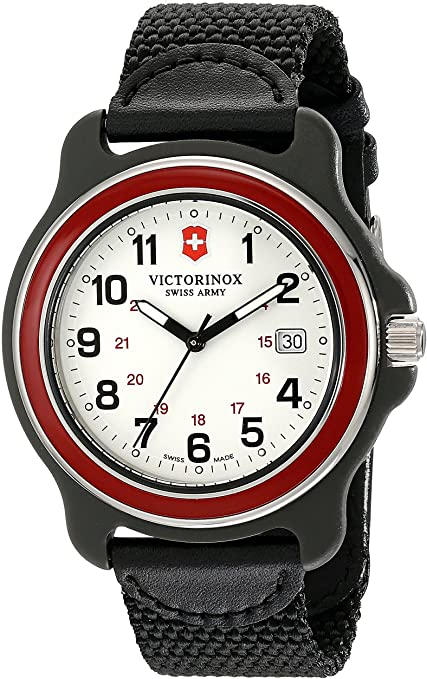 Victorinox Black Stainless Steel Watch