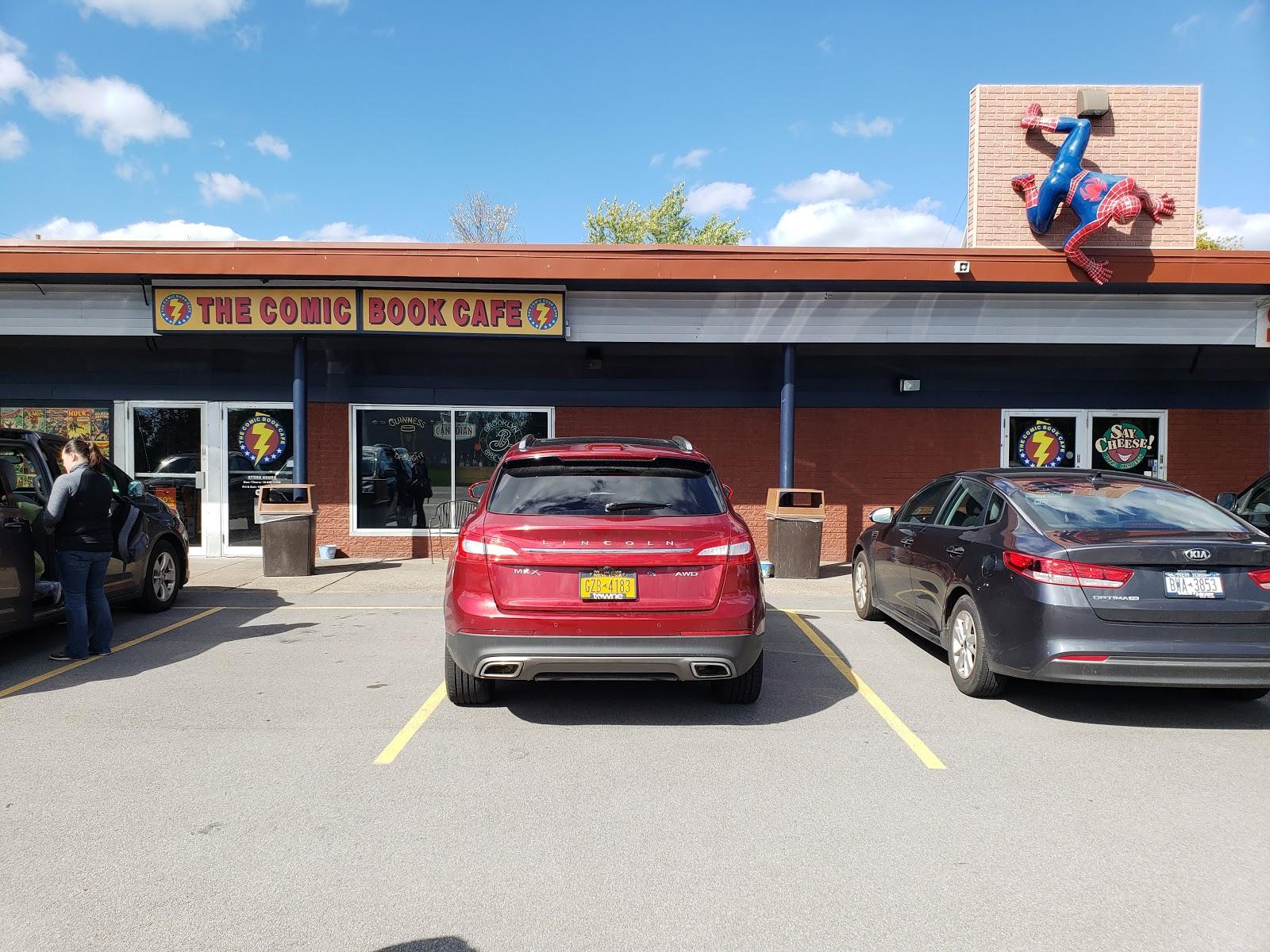 Comic Book Cafe Menu Grand Island Ny
