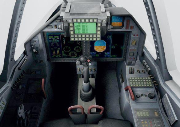 Sukhoi Su-57 cockpit
