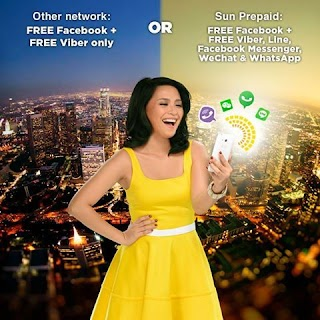 Sun Cellular TU20, TU50, TU60, TU150 Text Unlimited + Free FB Promo