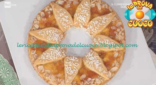 Prova del cuoco - Ingredienti e procedimento della ricetta Crostata sole di Natalia Cattelani