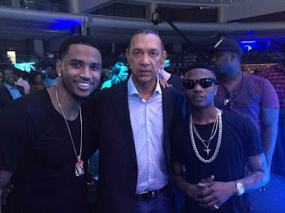 wp 1512036029292 - ENTERTAINMENT: Ben Bruce Applauds Wizkid For His Win At The MOBO Awards