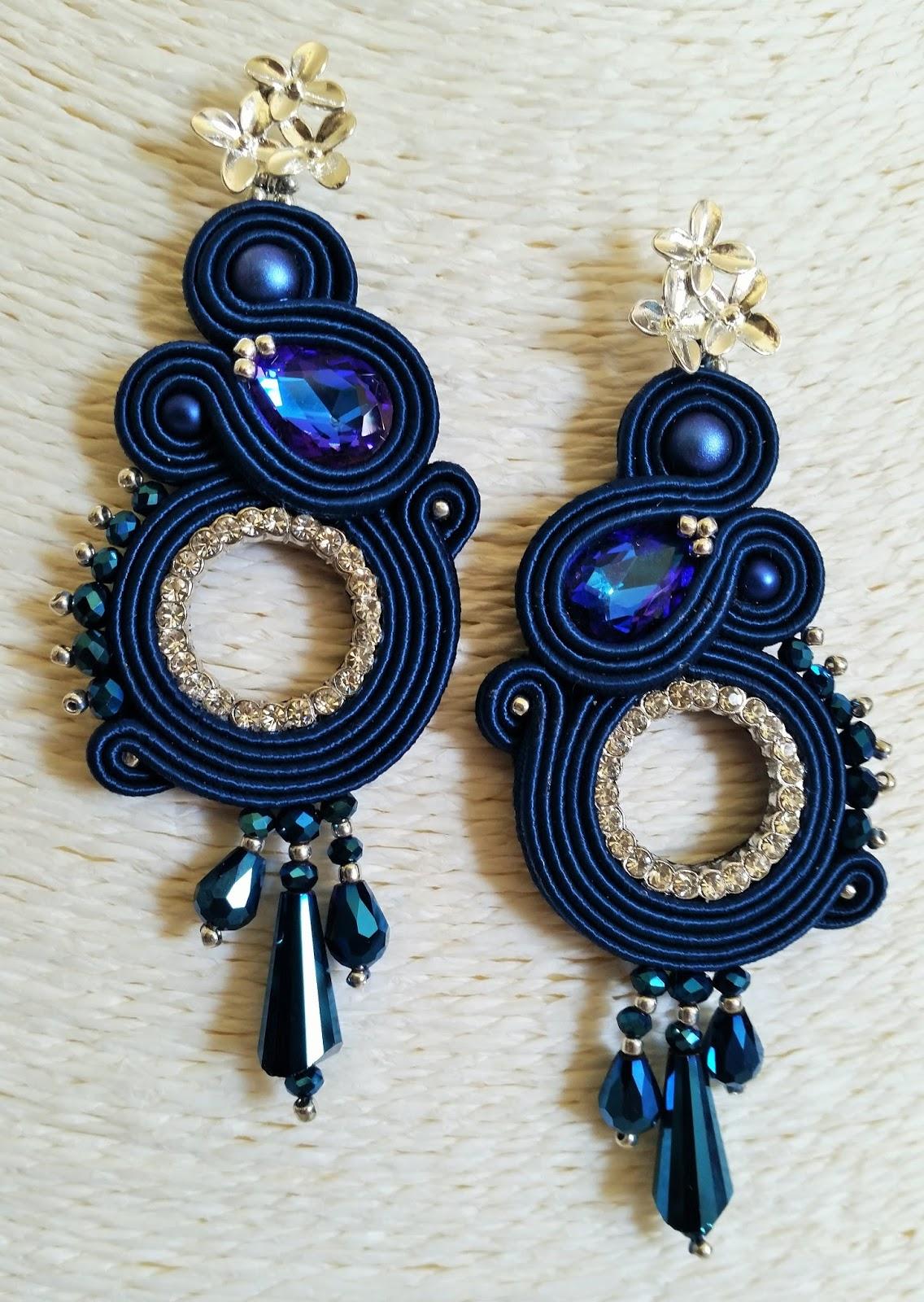 design di qualità anteprima di stili di moda i bijoux di rosestorm...hand made with love: ORECCHINI BLU ...