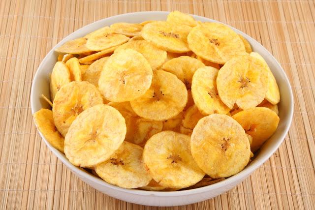 Chips de frutas para una celebración infantil