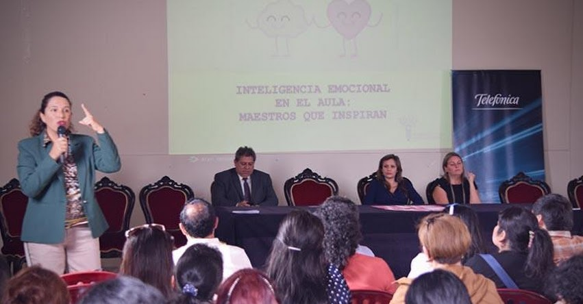 DRELM y Fundación Telefónica organizaron Taller de Inteligencia Emocional - www.drelm.gob.pe