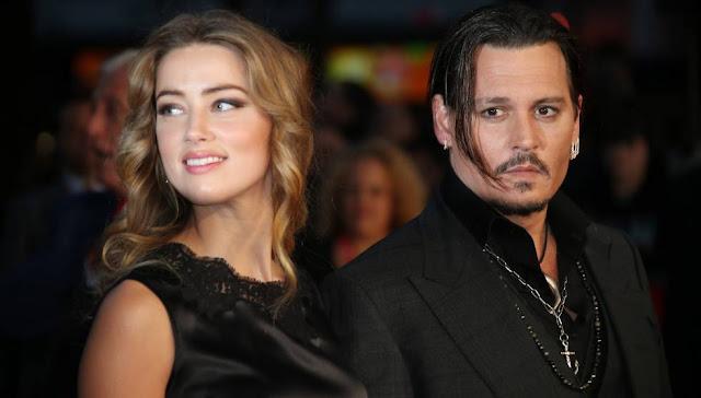 Amber Heard acusa a Johnny Depp de violencia doméstica con pruebas (FOTO)