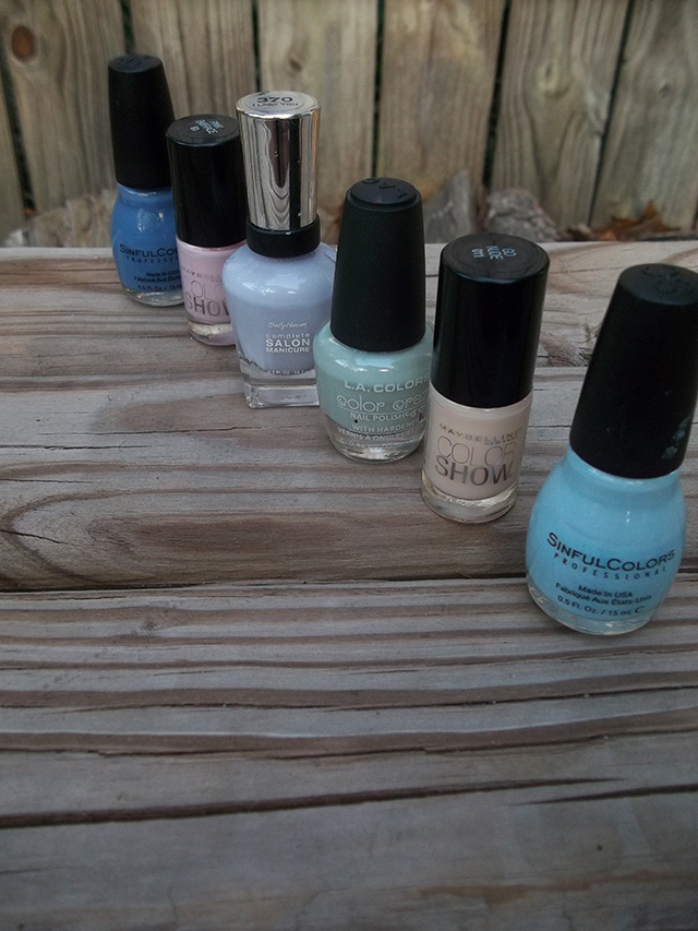 6 Perfectly Pretty Pastel Nail Polishes sinful colors maybelline sally hansen beauty