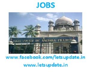 Jobs@ high court-letsupdate